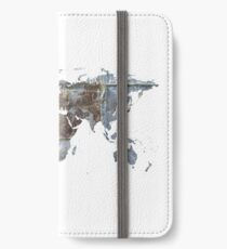 World map iPhone Wallet/Case/Skin