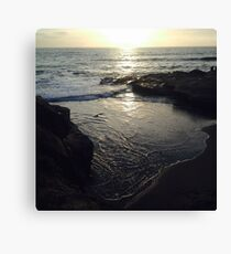 Sunset Cliffs Canvas Print