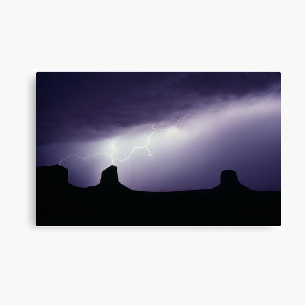 Monument Valley Storm Canvas Print