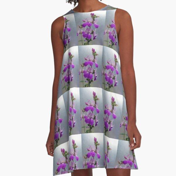 Flowers. A-Line Dress