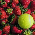 Tennis Strawberries by Alan Organ LRPS