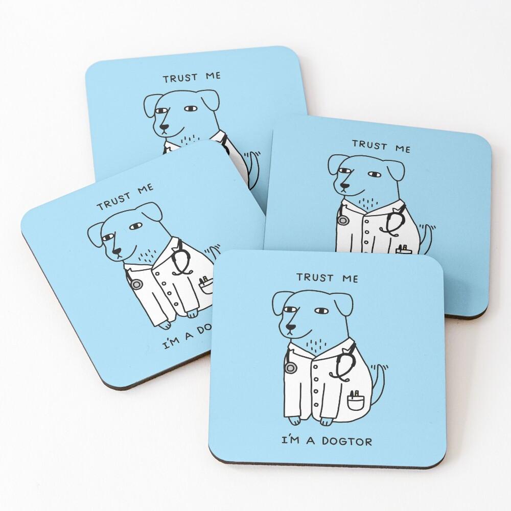 Dogtor Coasters (Set of 4)