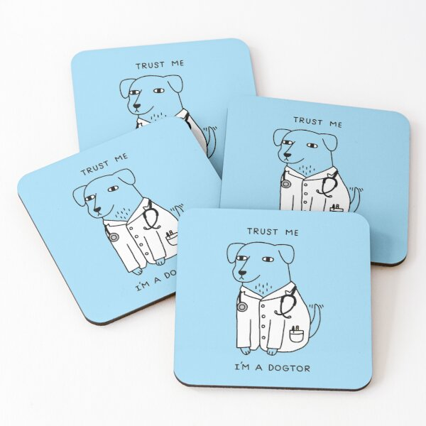 Dogtor Coasters (Set of 4)