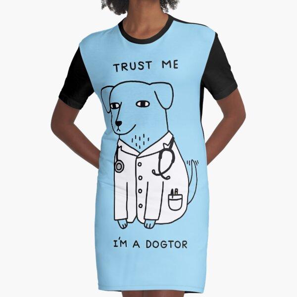 Dogtor Graphic T-Shirt Dress