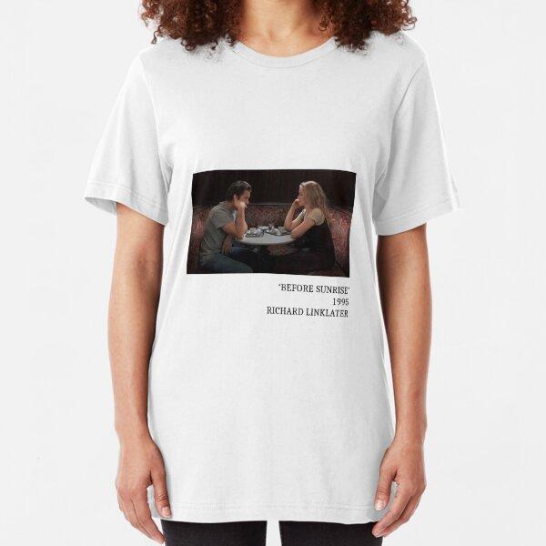 Wearable Art: Before Sunrise Slim Fit T-Shirt