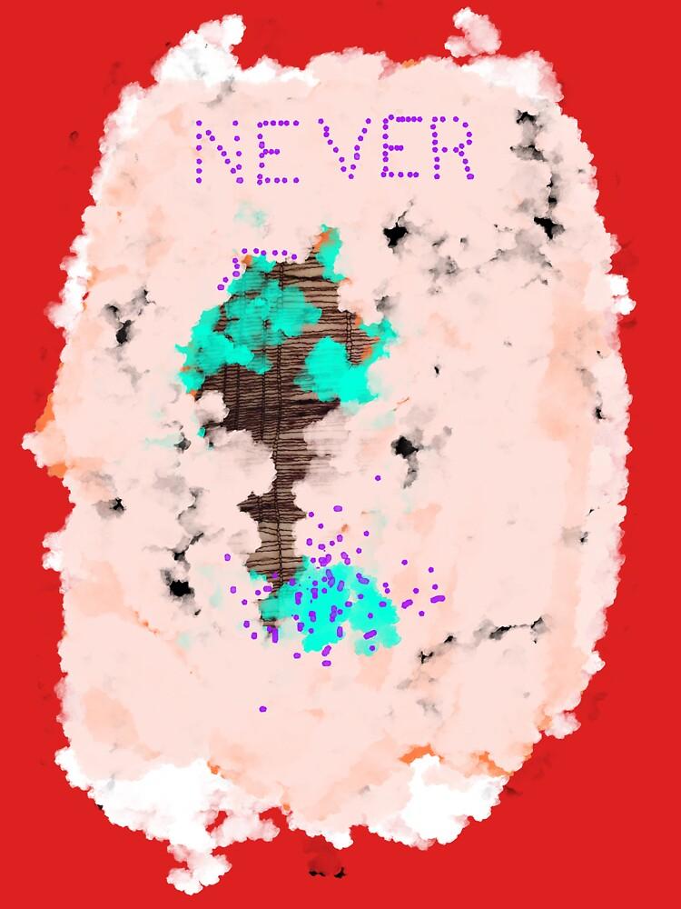 Never t-shirt by 8deadsuns