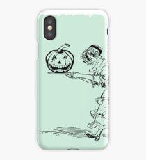 Happy Halloween Evil Pumpkin iPhone Case