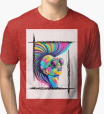 PUNKED Tri-blend T-Shirt