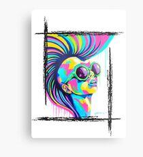 PUNKED Metal Print