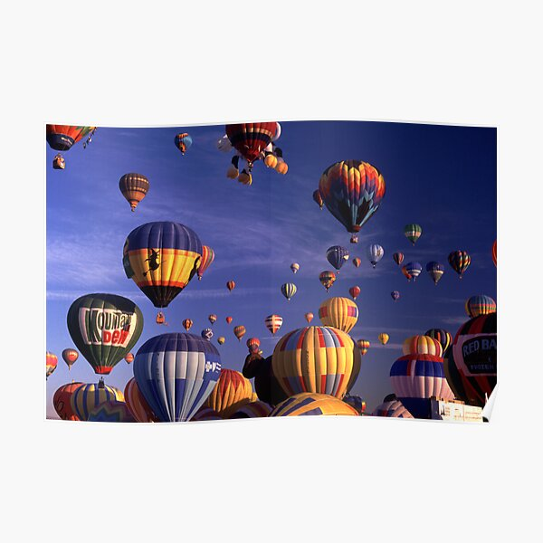 62 Balloons Poster