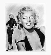 Hollywood greats Marilyn Photographic Print