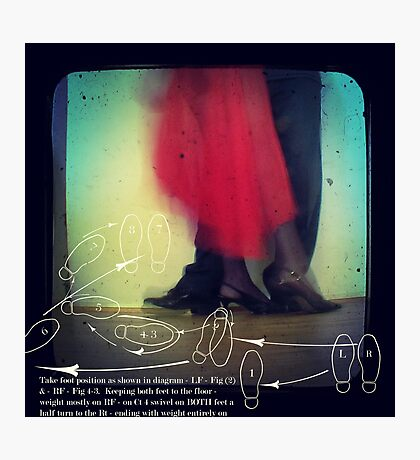 ~ dance lessons with Miss Veronique ~ Photographic Print