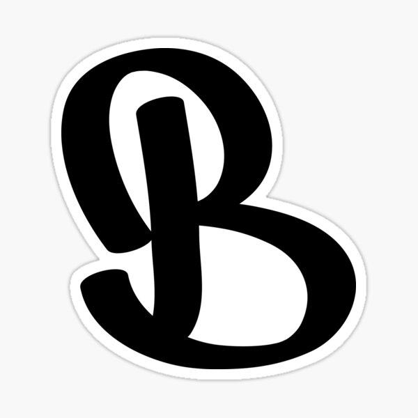 Etiqueta B Pegatina