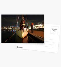 Calm at Docklands Postcards