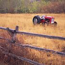 Teton's Tractor by Christopher  Boswell