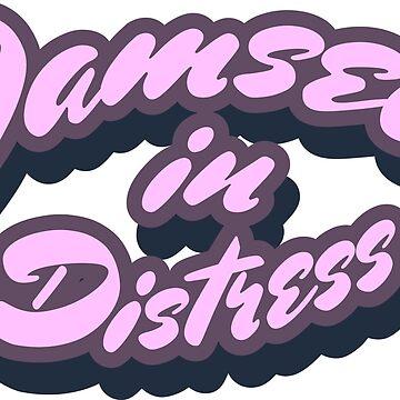 Damsel in distress by portokalis