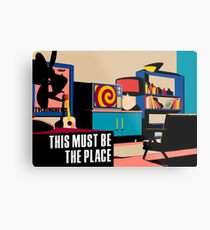 Talking Heads - This Must Be The Place Metal Print