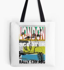 London Scooter Rally Tote Bag