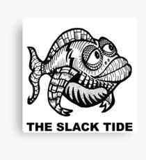 The Slack Tide Canvas Print