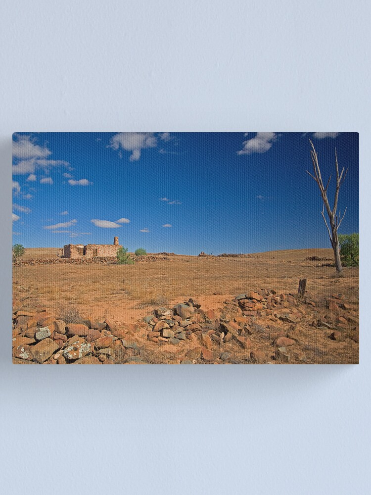 Alternate view of Ruined House Canvas Print