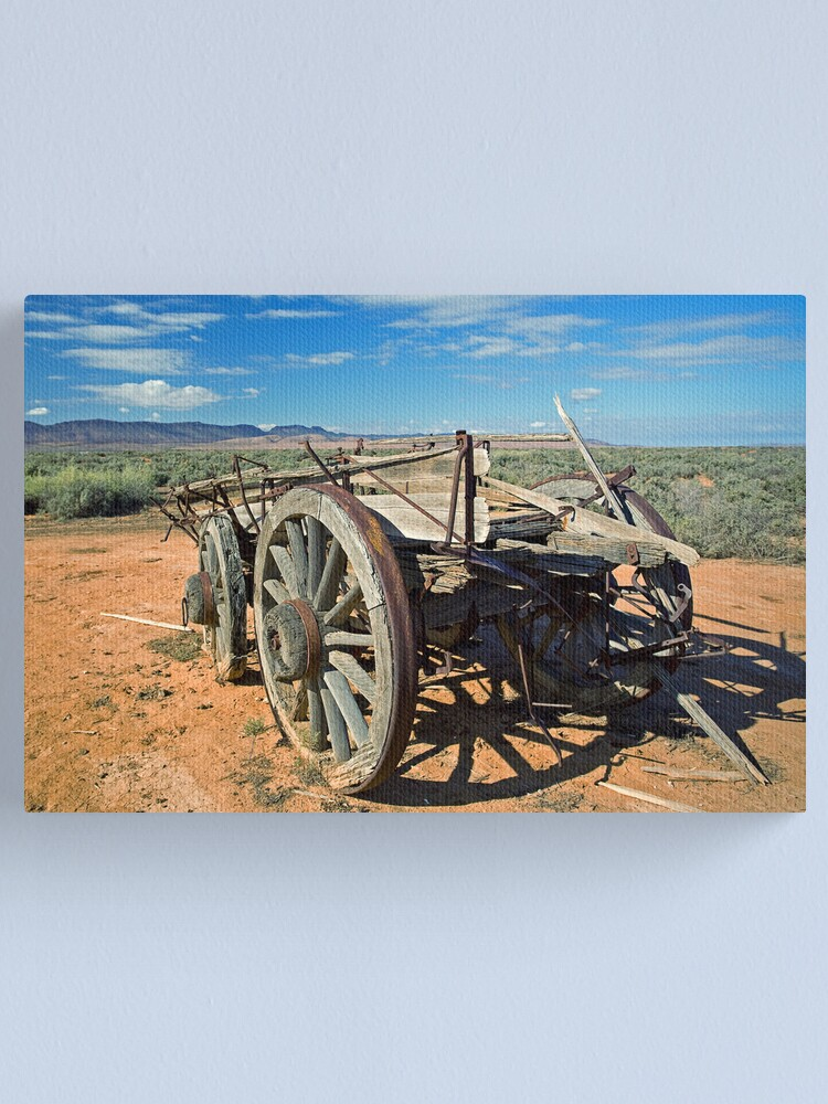 Alternate view of The Old Bullock Cart Canvas Print
