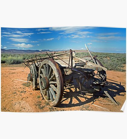 The Old Bullock Cart Poster