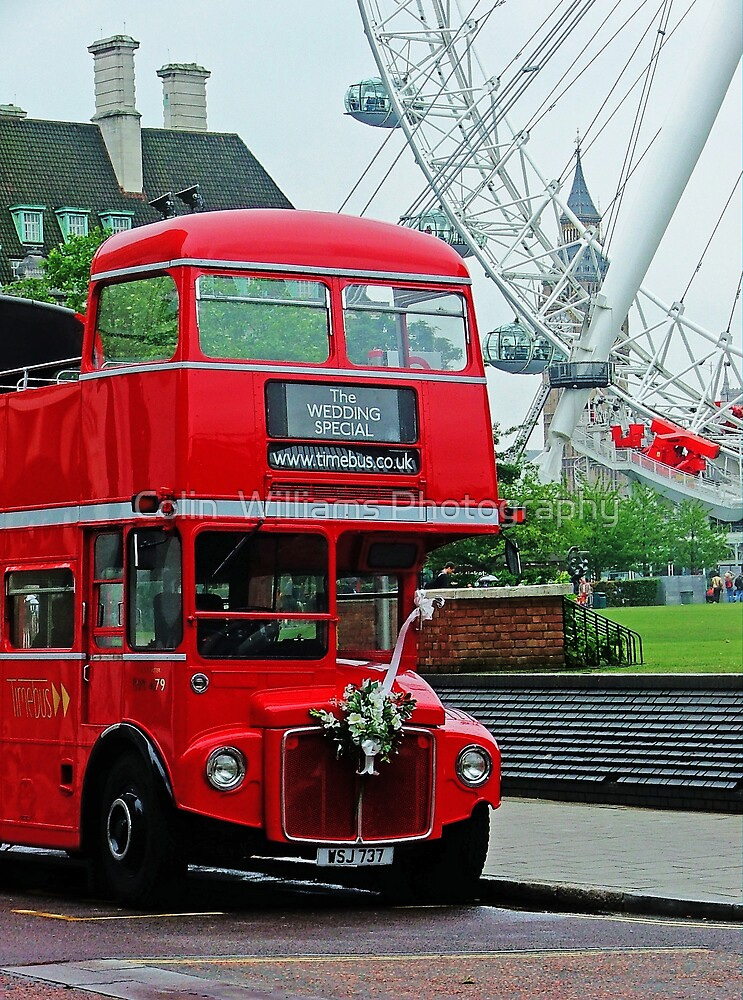 The Wedding Bus by Colin  Williams Photography