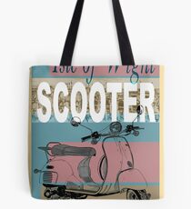 Isle of Writer Scooter Rally Tote Bag