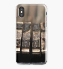 Old Typewriters Make the Best Friends iPhone Case
