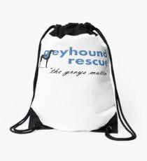Greyhound Rescue Logo #2 Drawstring Bag