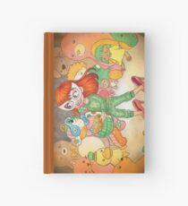 Teddy Bear Masquerade Hardcover Journal