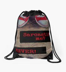 Sarcastic? Drawstring Bag