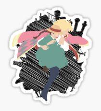 Dancing in the sky Sticker