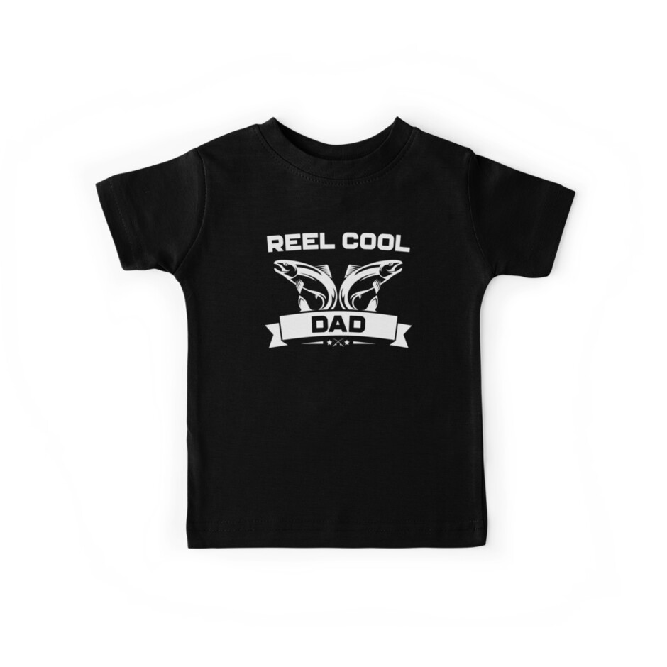 2f7f0f9a Reel Cool Dad Shirt Cute Fishing Father's Day Gift
