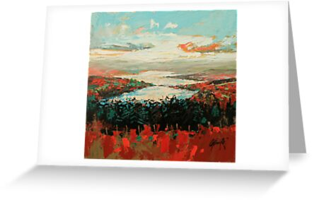 Loch Garry Haze by scottnaismith