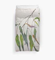 Gum leaves - Botanical illustration Duvet Cover