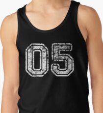 Sport Team Jersey 05 T Shirt Football Soccer Baseball Hockey Basketball Five 5 05 Number Tank Top
