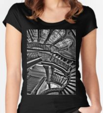 Old Style Workmanship - HDR T Shirt Women's Fitted Scoop T-Shirt
