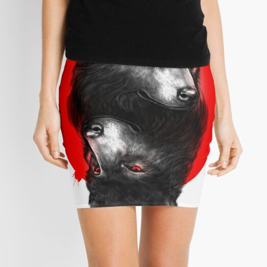 Duality Mini Skirt