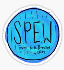 S.P.E.W. Sticker