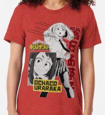 Ochaco Uraraka: Hero Style Tri-blend T-Shirt