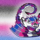 Biromantic Asexual Pride Dragon by Markaleb