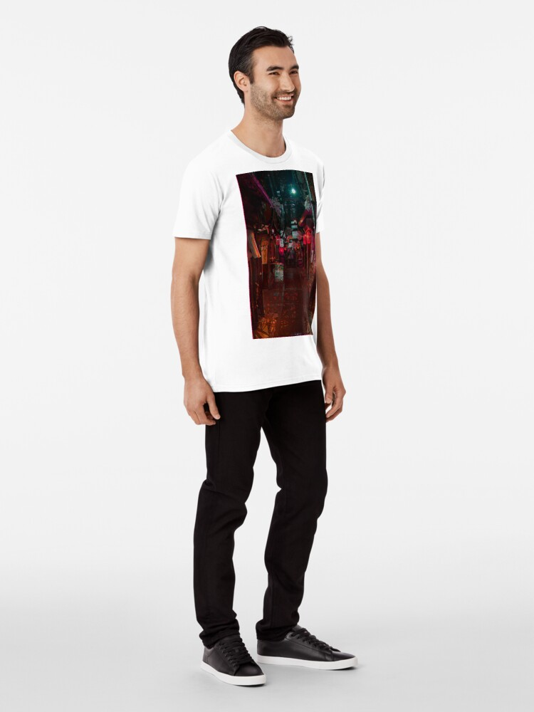 Alternative Ansicht von Gasse Premium T-Shirt