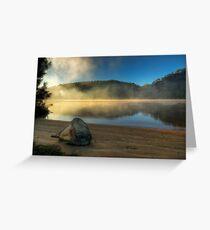 Beached Rock - Hawkesbury River Greeting Card