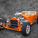 Orange Bucket by Keith Hawley