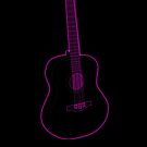 Guitar silhouette by Anteia