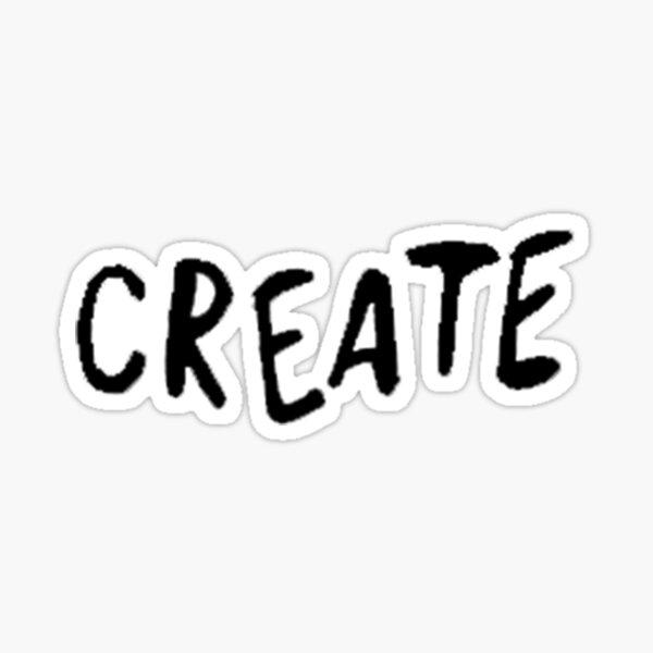 CREATE Sticker
