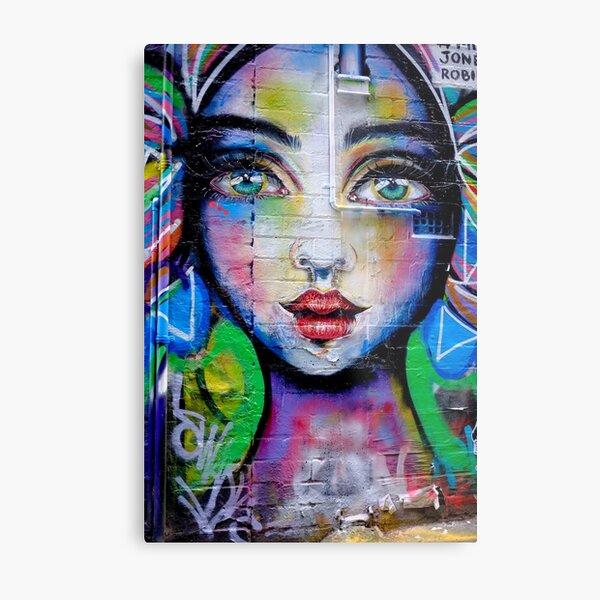 Street Art Beauty Metal Print