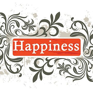 Happiness - Sticker by nunigifts