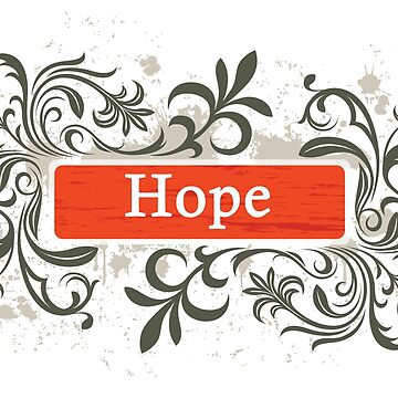 Hope - Sticker by nunigifts
